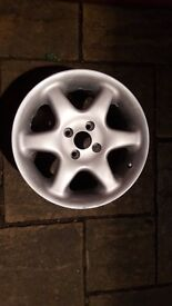 Alloy wheels newly repainted 4x100