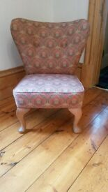 Chair - upholstered, low level