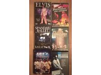 Assorted Music DVD's