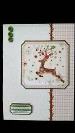 HANDMADE CHRISTMAS CARD 5