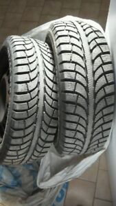 Set of 4 winter tires on rims H195/60R15