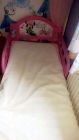 Toddler bed and matress