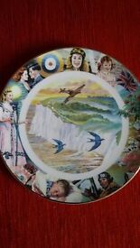 Davenport Pottery The White Cliffs Of Dover limited edition plate