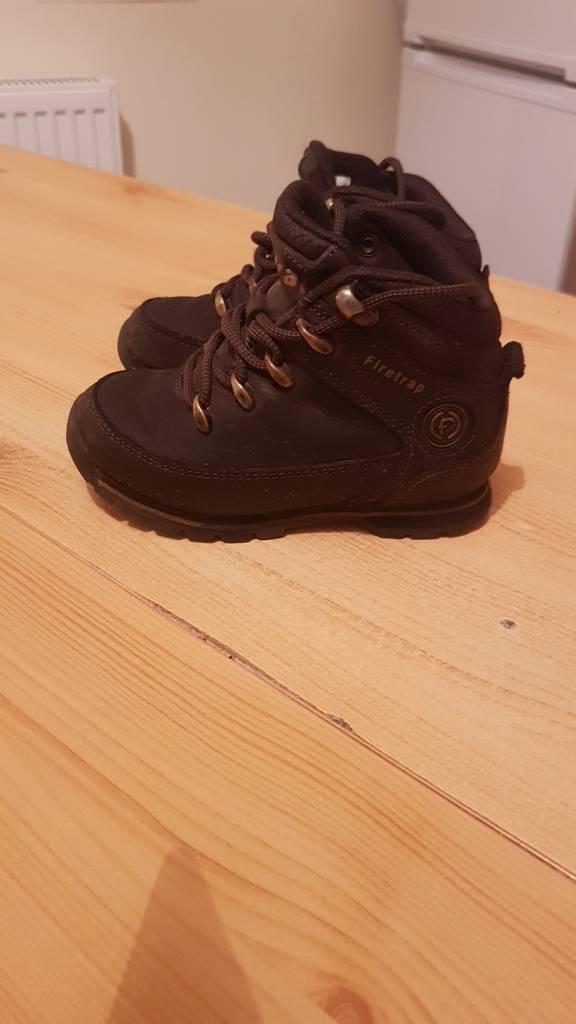 boys firetrap boots