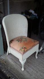 Origianl Lloyd Loom Bedroom Chair