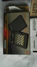 Pocket plus chess electronic