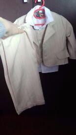 Boy Toddler Christening Wedding Suit