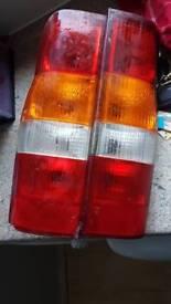 Transit mk6 rear lights.