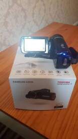 Toshiba hand held camcorder