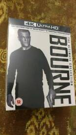 Bourne the ultimate collection blu ray 4k uhd boxset