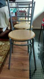 Dining chairs four