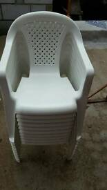 10 x toddler small children's chairs