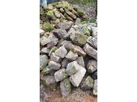 Bullwell/ Derbyshire stone for walling