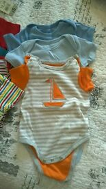 Boys bundle of new baby suits