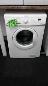 Zanussi white digital 8.kg load 1200 spin washing machine