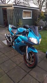Suzuki SV 650 2006 Low miles A2 licence restrictor available