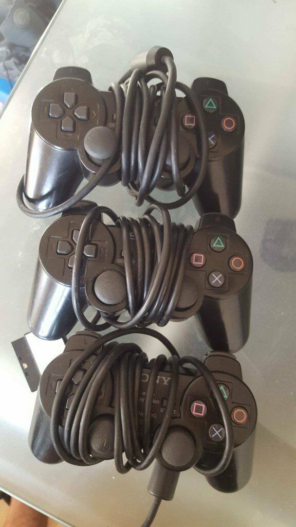 PLAYSTATION 2 CONTROLLER £3 (FULLY WORKING/EXCELLENT CONDITION)
