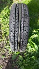 Brand new spare Tyre size 14 , 185/65R14 , 36H