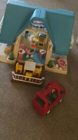 Little Tikes dolls house complete
