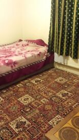 A large double furnished room available for rent