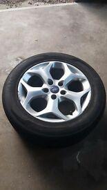 Ford 17inch 5 stud alloy wheel