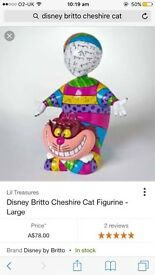 Disney Ariel and Cheshire Cat ornaments