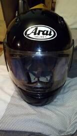 Arai motorcycle helmet size L