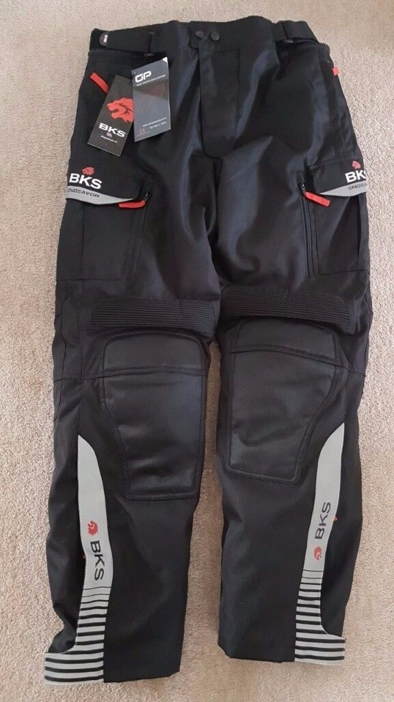 BKS Endevour Motorcycle Trousers, Brand New, With Tags, Unworn