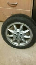 X4 vw alloys/tyres 205/50 r 15