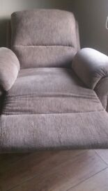2 electric recliner armchairs