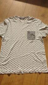 Penguin t-shirt white size small