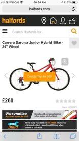 "Carerra Saruna Girls 24"" Bike"