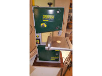 Record Power 240mm Bandsaw - barely used, still on first blade