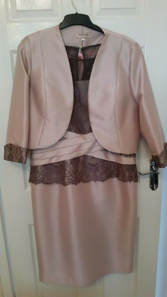 Dusky pink & taupe mother of the bride