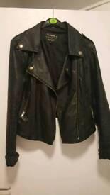 Womans leather jacket size 10