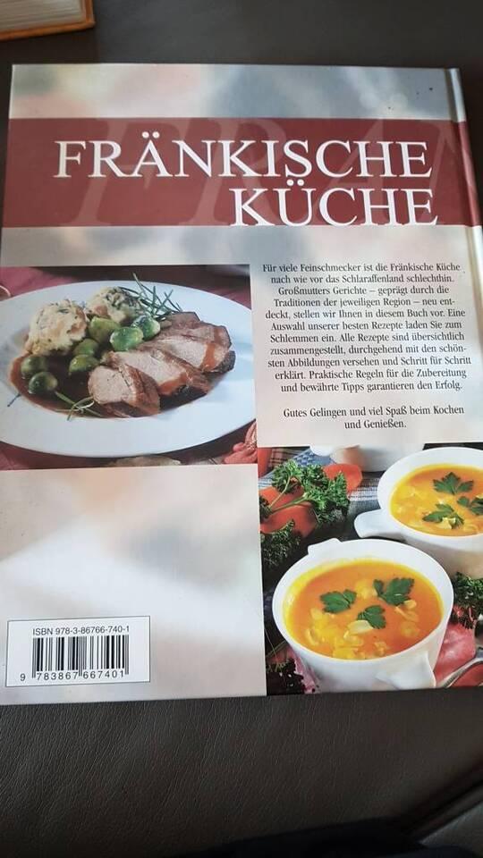 Kochbücher, Fränkische Küche, das große Kochbuch, Rezepte