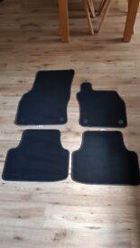 Brand new Skoda car mats