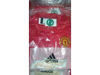Manchester Utd Home Shirts Brand New