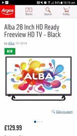 "Alba 28"" brand new tv"