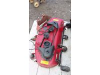 Toro ride on mower deck