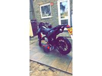 Supermotor 50cc 2 stroke road legal 2015 plate**