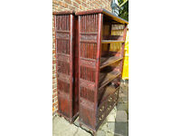 free chinese antique bookshelves made of solid hardwood
