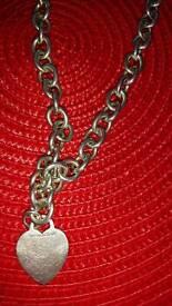 Tiffany chain 925 solid silver