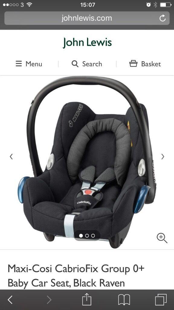 Baby Car Seat & base