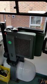 Folding Ambulance Seats - removed from Renault Trafic Ambualnce