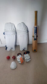 Full cricket gear with sports bag !!