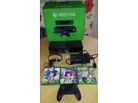 Xbox One with Kinect in original boxed