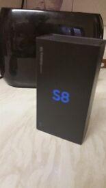 Samsung S8 64GB & 64GB Memory Card