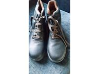 Steel Toe Work Boots Size 9