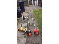 4 strimmers spares or repair